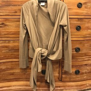 BCBG tan wrap